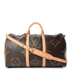 Louis Vuitton Giant Monogram Keepall 50